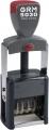 GRM 5030 Металлический датер 4 мм