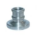 Заготовка алюминиевая для пломбира под сургуч д.25 мм