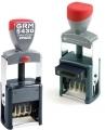 GRM 5430 2 Pads Мет. датер с полем для текста 42х25мм с двойной